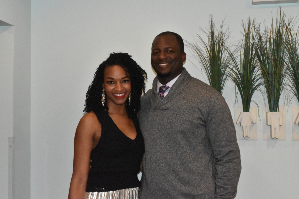 Coach Rosser and Wife
