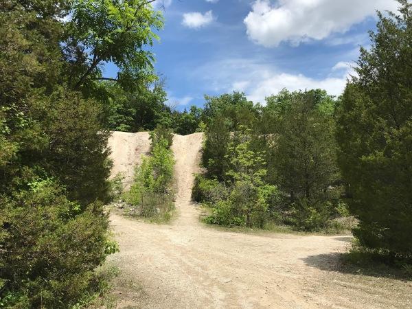 Lime quarry at Ijams